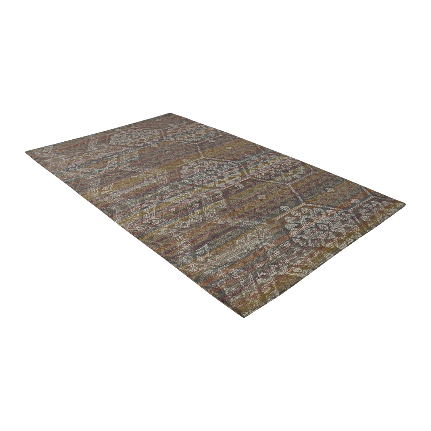 Obeetee Multi-Colored Handtufted Rug / Decor