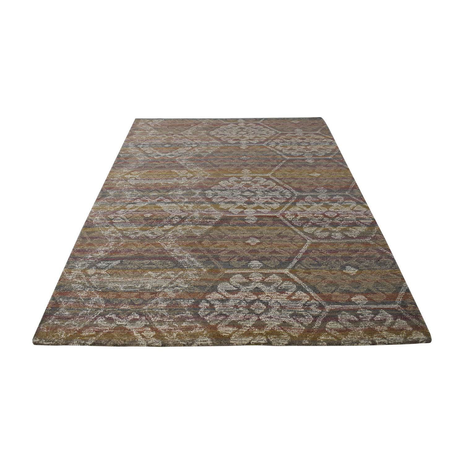 Obeetee Multi-Colored Handtufted Rug sale