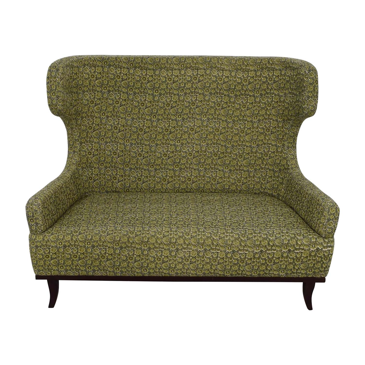 Manor and Mews Manor and Mews James Multi Green Patterned Settee Loveseats
