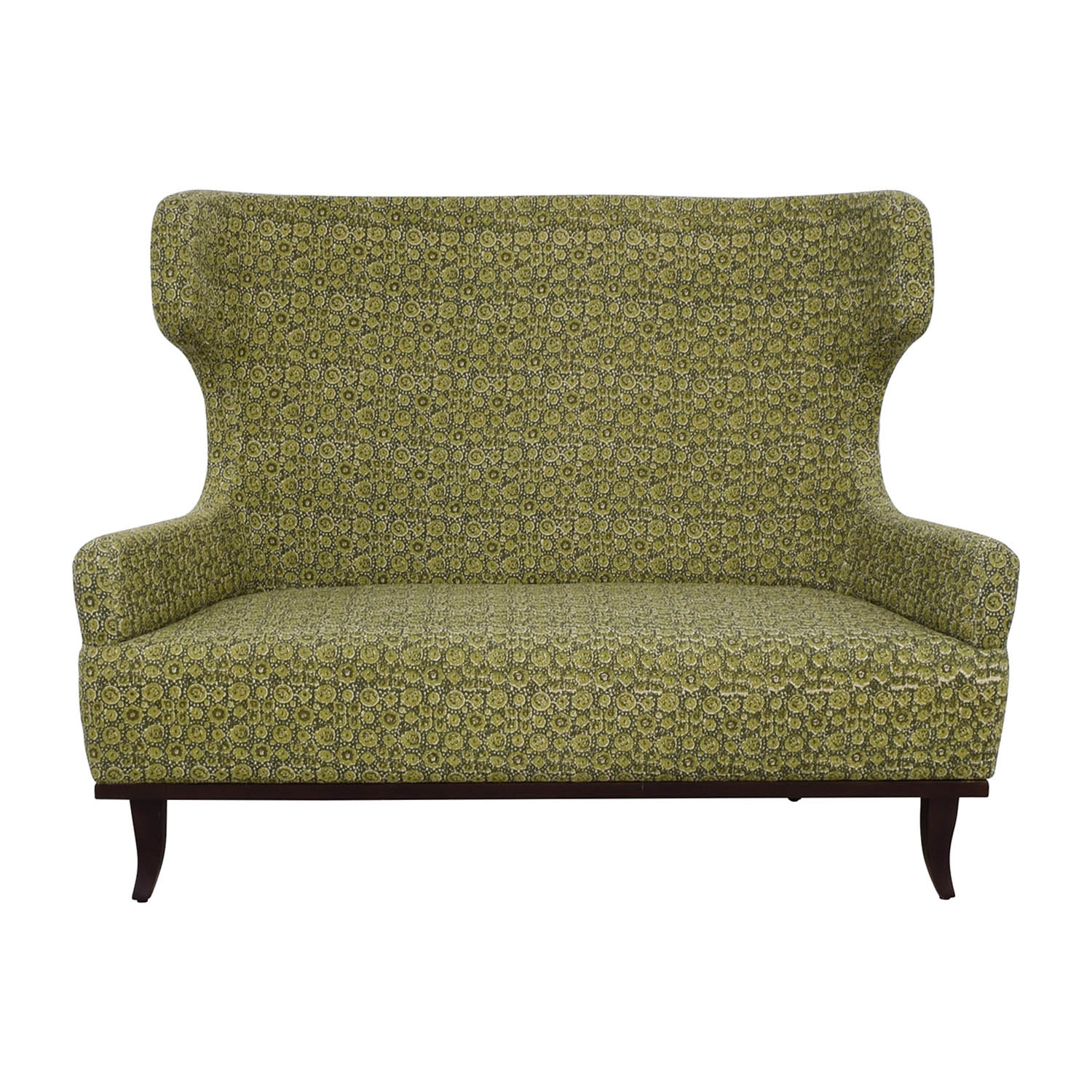 Manor and Mews Manor and Mews James Multi Green Patterned Settee coupon
