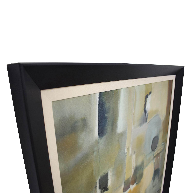 69% OFF - The Bombay Company The Bombay Company Framed Art Nancy ...