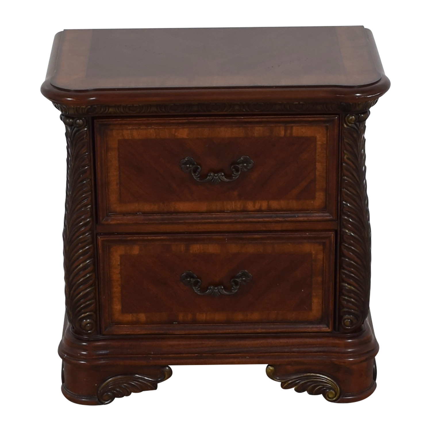 Liberty Furniture Catalina Cognac Two-Drawer Nightstand / Tables
