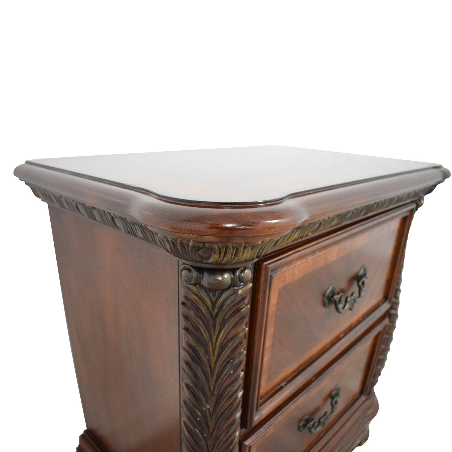 Liberty Furniture Liberty Furniture Catalina Cognac Two-Drawer Nightstand dimensions