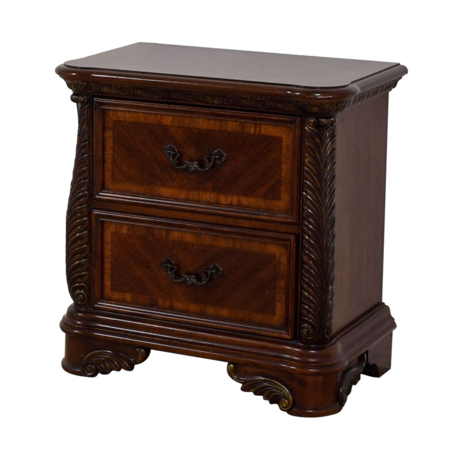 Liberty Furniture Liberty Furniture Cognac Traditional Nightstand End Tables
