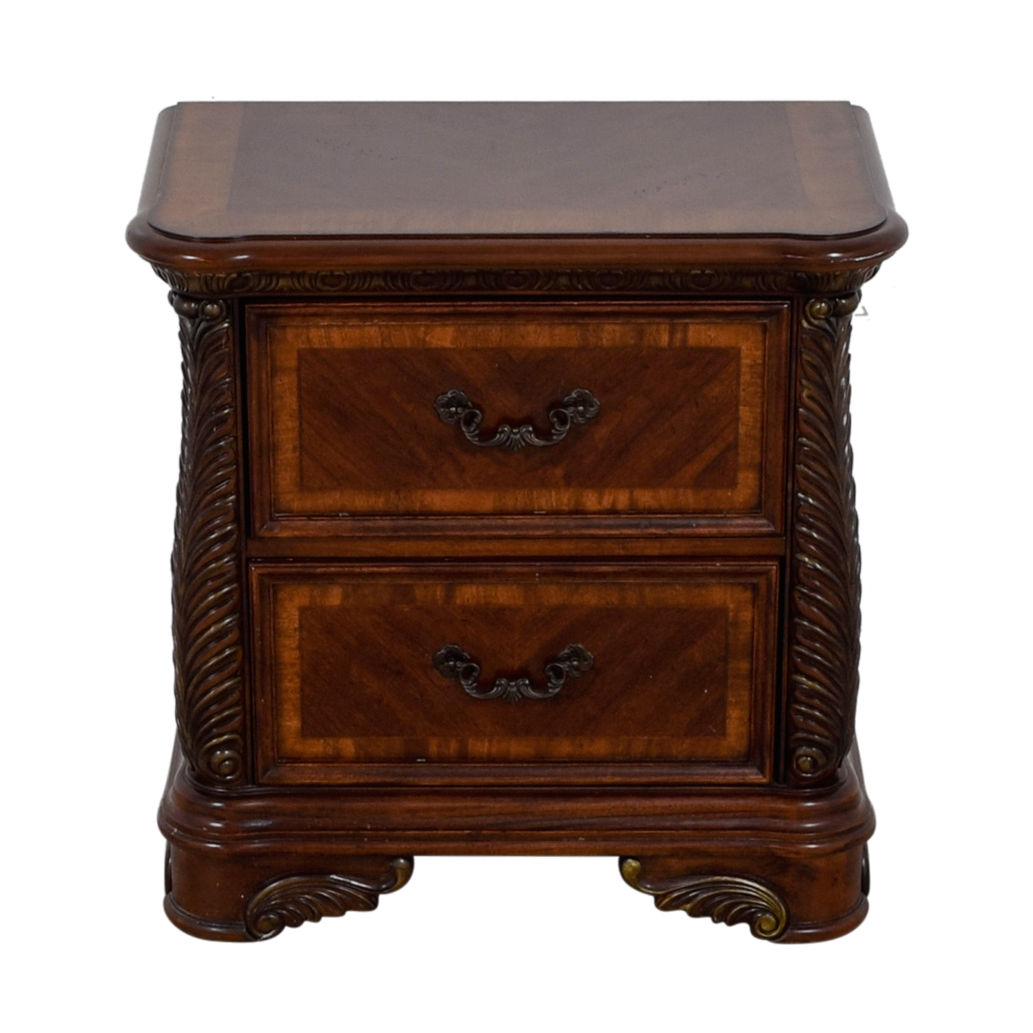Liberty Furniture Liberty Furniture Cognac Traditional Nightstand dimensions