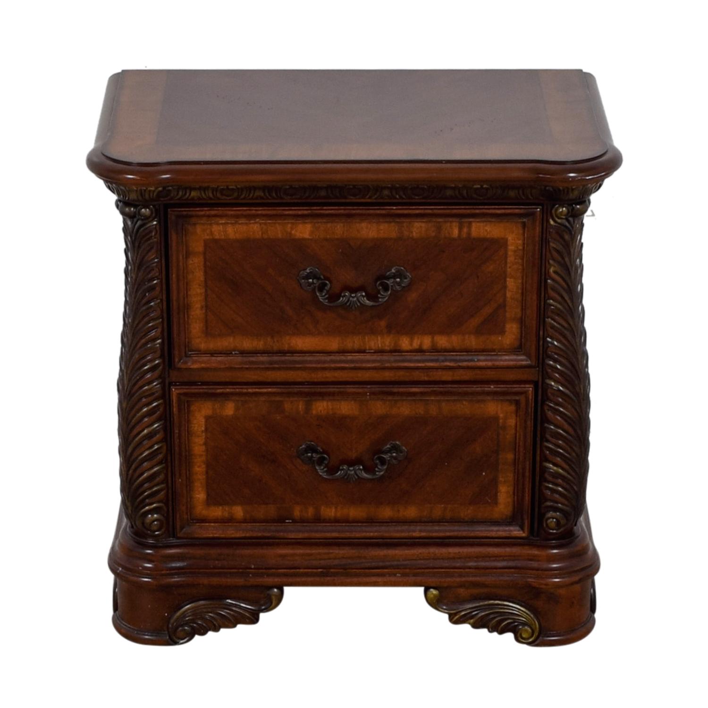 buy Liberty Furniture Cognac Traditional Nightstand Liberty Furniture