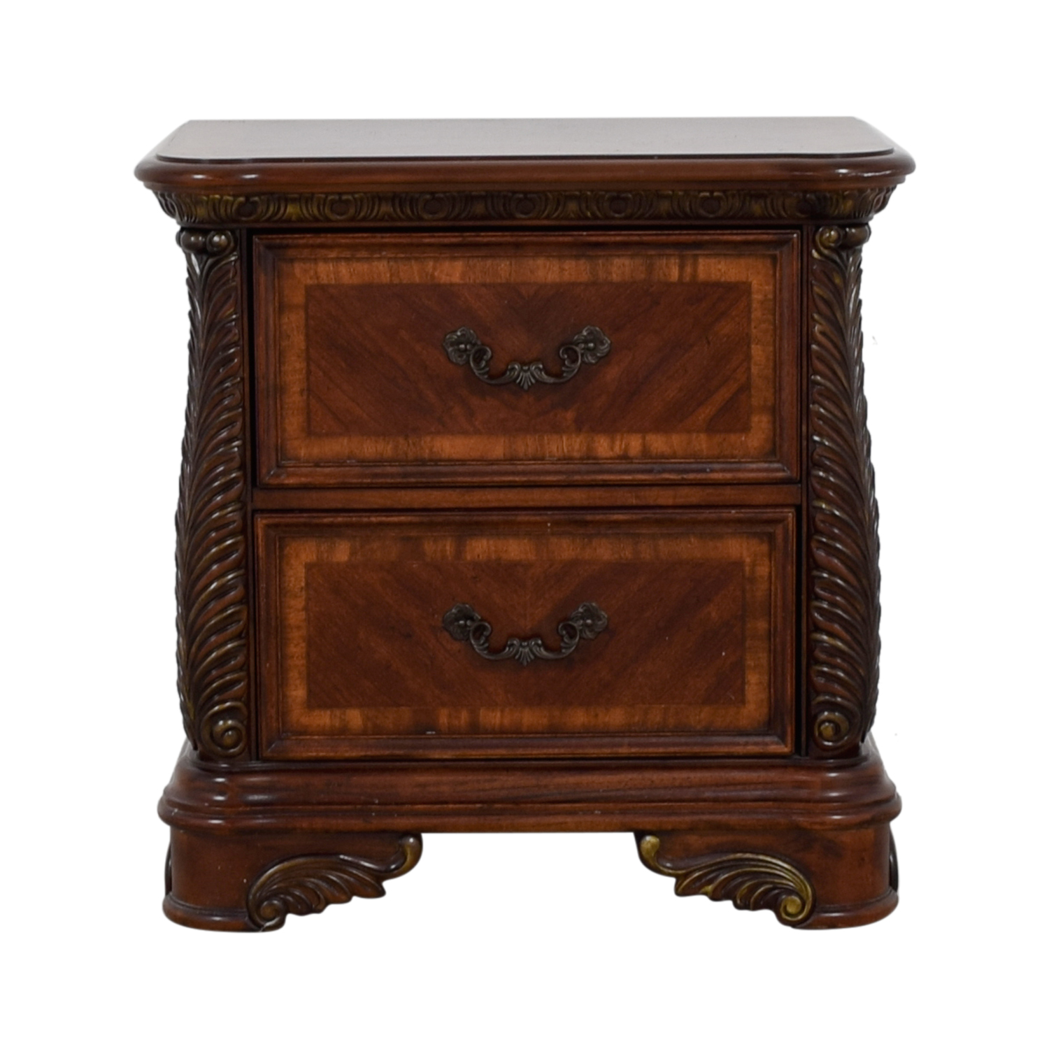 shop Liberty Furniture Cognac Traditional Nightstand Liberty Furniture Tables