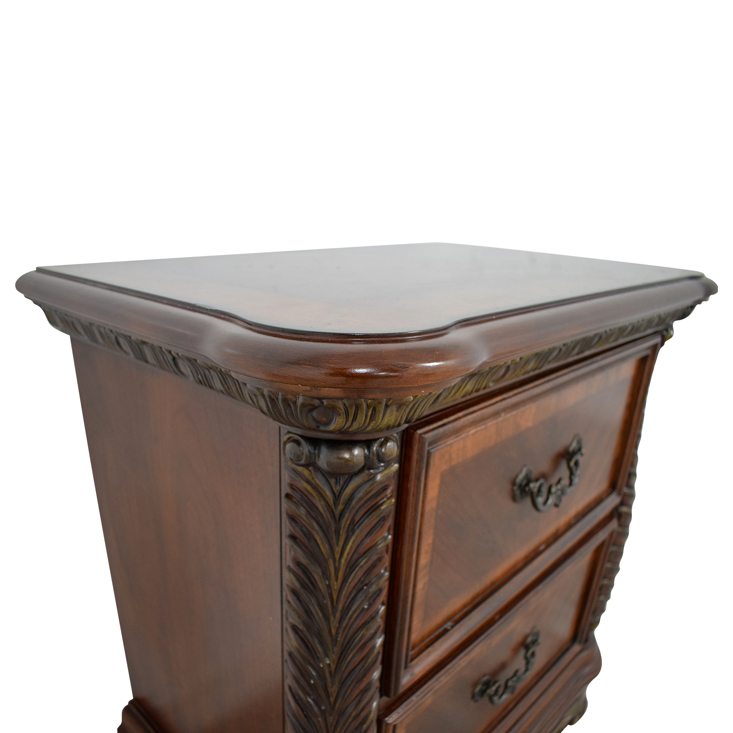 shop Liberty Furniture Cognac Traditional Nightstand Liberty Furniture End Tables