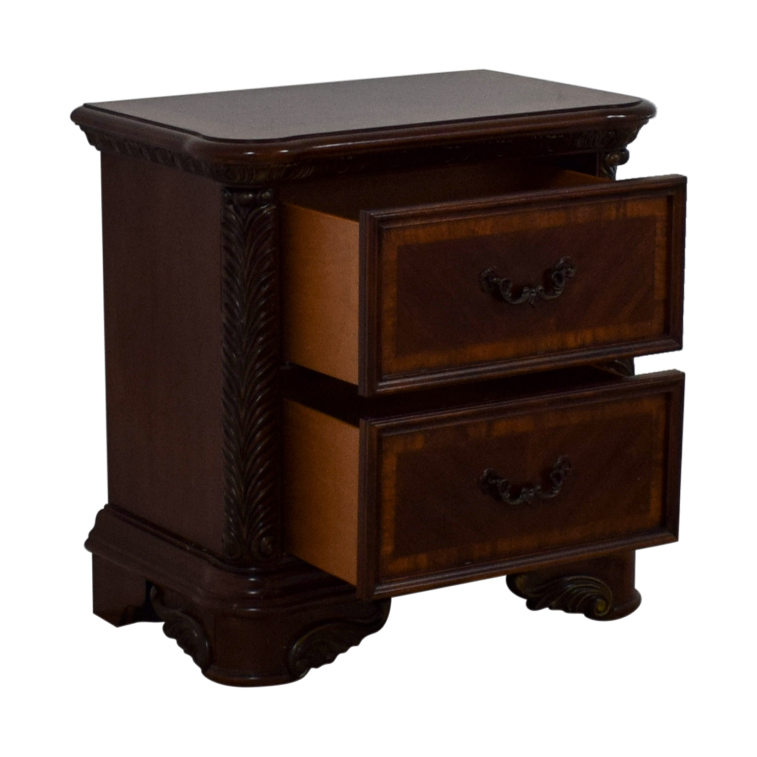 Liberty Furniture Liberty Furniture Cognac Traditional Nightstand