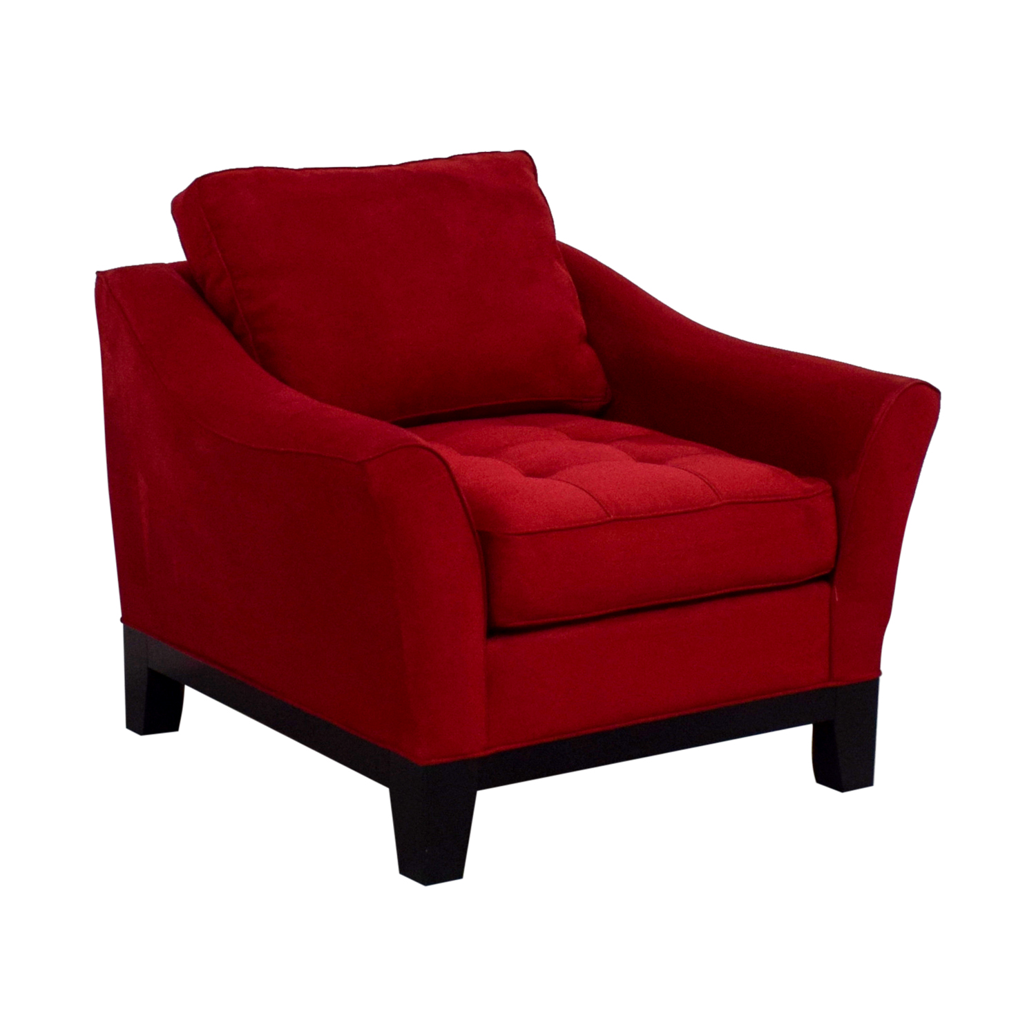 Raymour And Flanigan Molly Accent Chair: Raymour & Flanigan Raymour & Flanigan Red