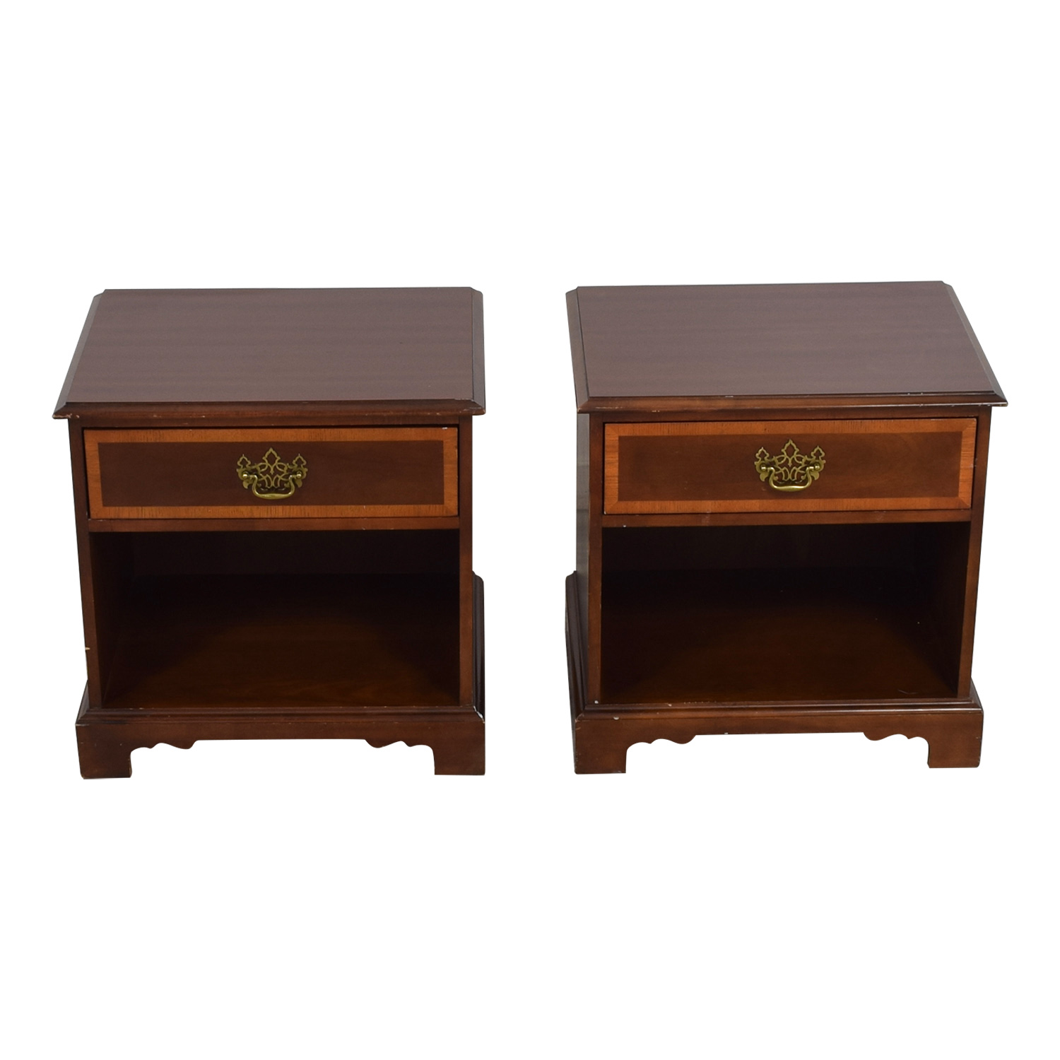 Kimball  Single Drawer End Tables / End Tables