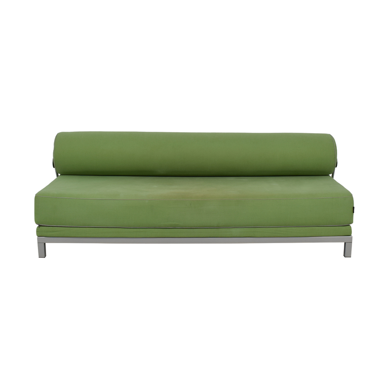 shop Design Within Reach Design Within Reach Softline Twilight Green Armless Sofa online