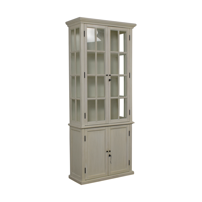 Restoration Hardware Hampton White Bookcase