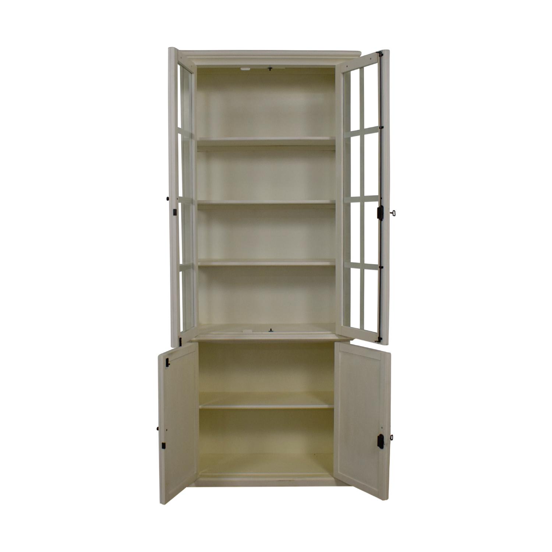 Restoration Hardware Restoration Hardware Hampton White Bookcase nj