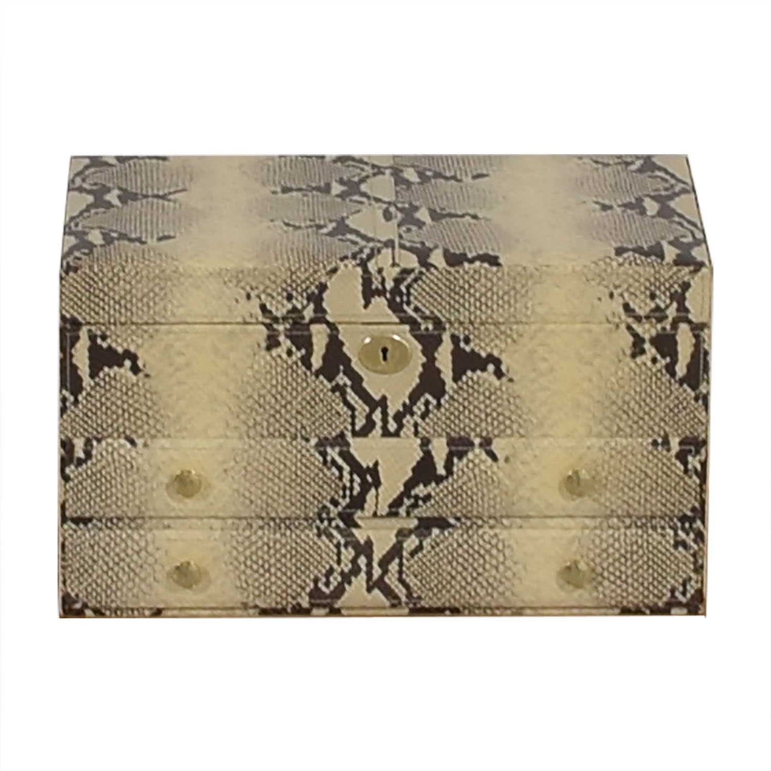 Coach Coach Snakeskin Jewelry Case with Mirror price