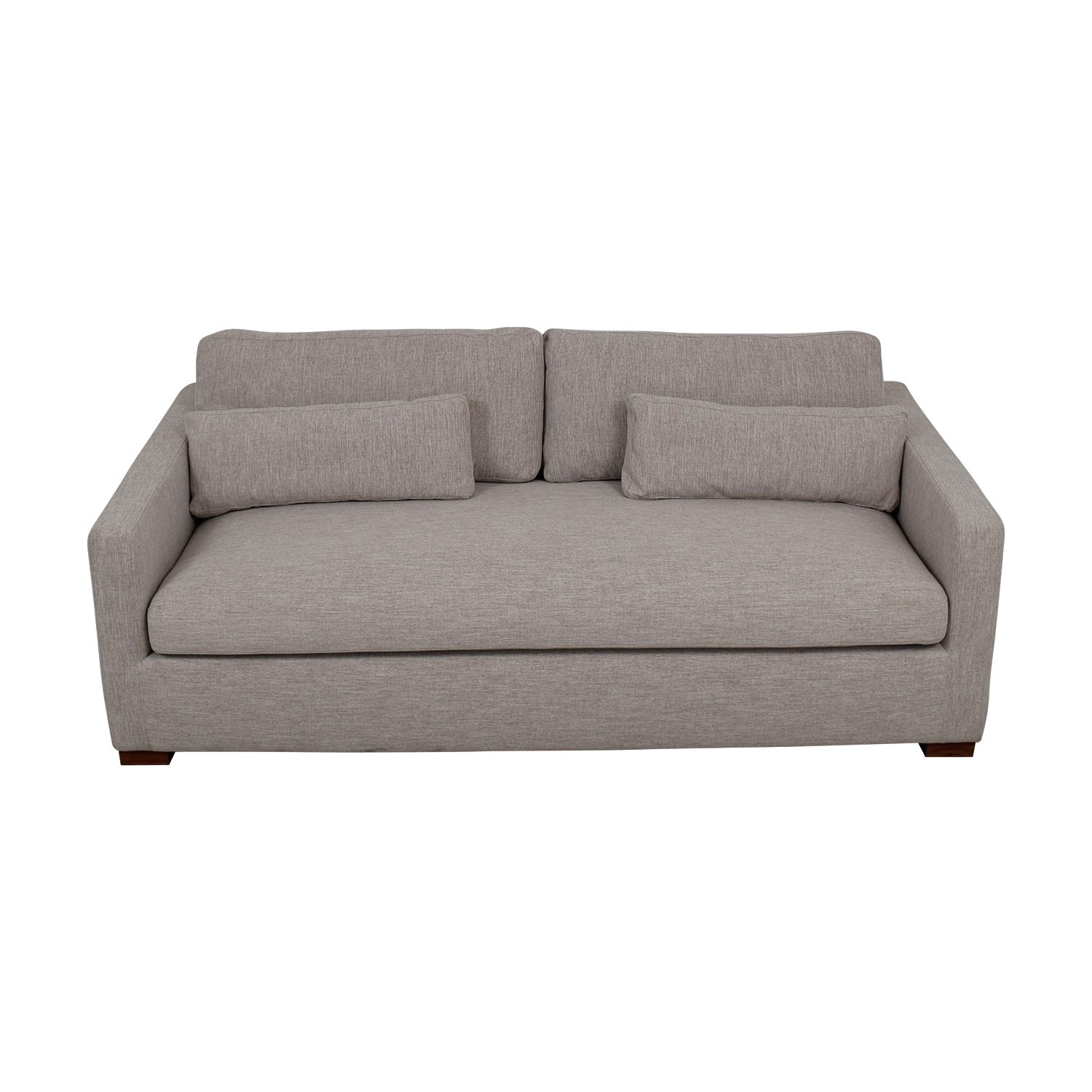Charly Wheat Single Cushion Sofa dimensions