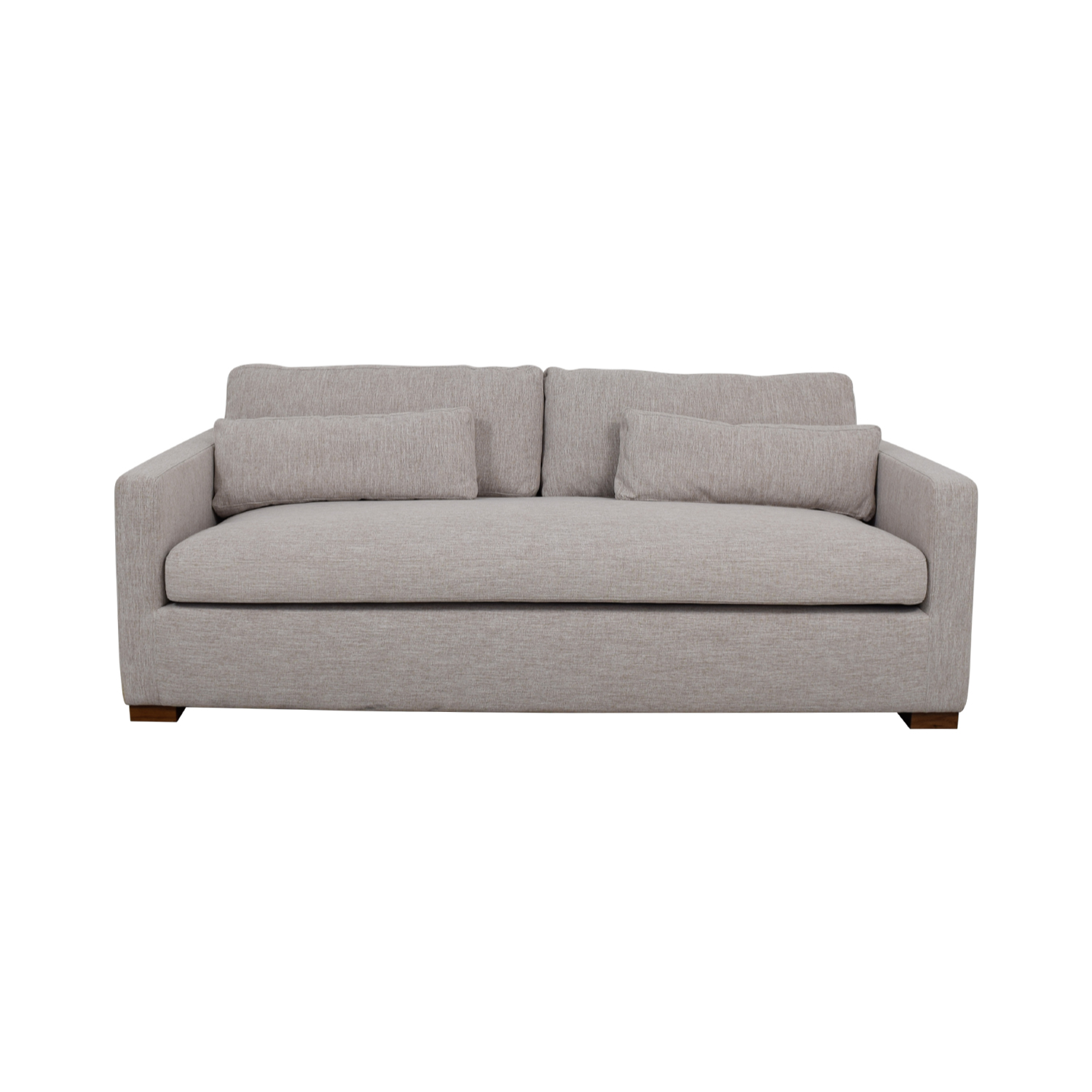 Charly Wheat Single Cushion Sofa Clic Sofas