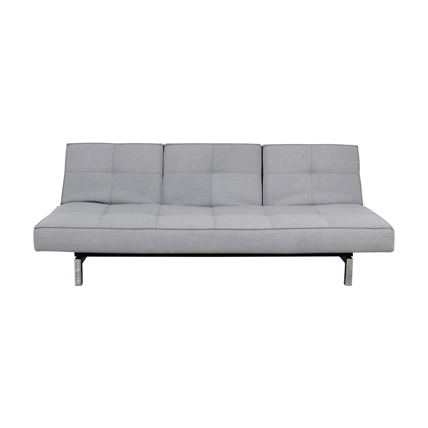 Room & Board Room & Board Eden Essen Grey Convertible Sleeper Sofa discount