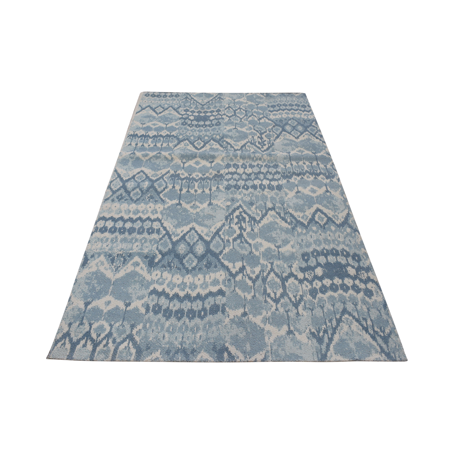 69 Off Obeetee Obeetee Handtufted Rug With Printed Ikat