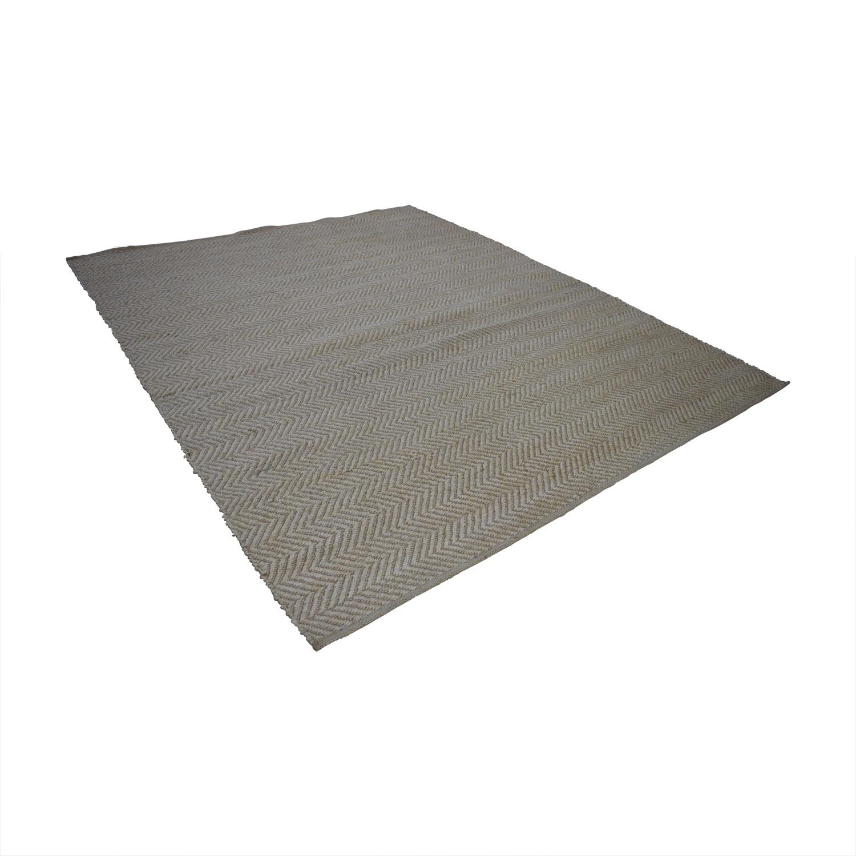 Obeetee Obeetee Jute Beige Flat Weave price