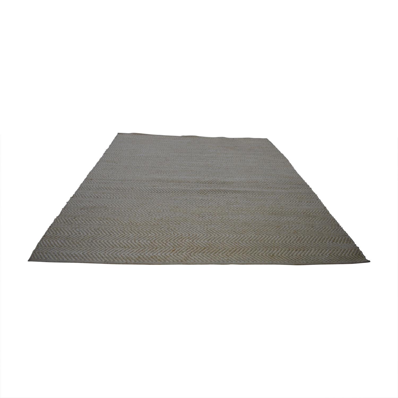 Obeetee Obeetee Jute Beige Flat Weave for sale