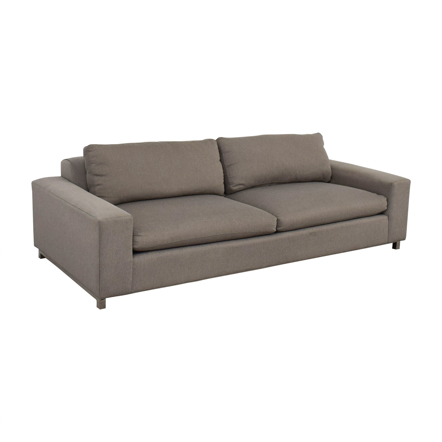 Room & Board Room & Board Klein Tula Putty Two-Cushion Sofa second hand