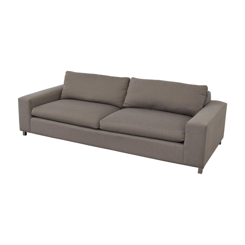 shop Room & Board Klein Tula Putty Two-Cushion Sofa Room & Board