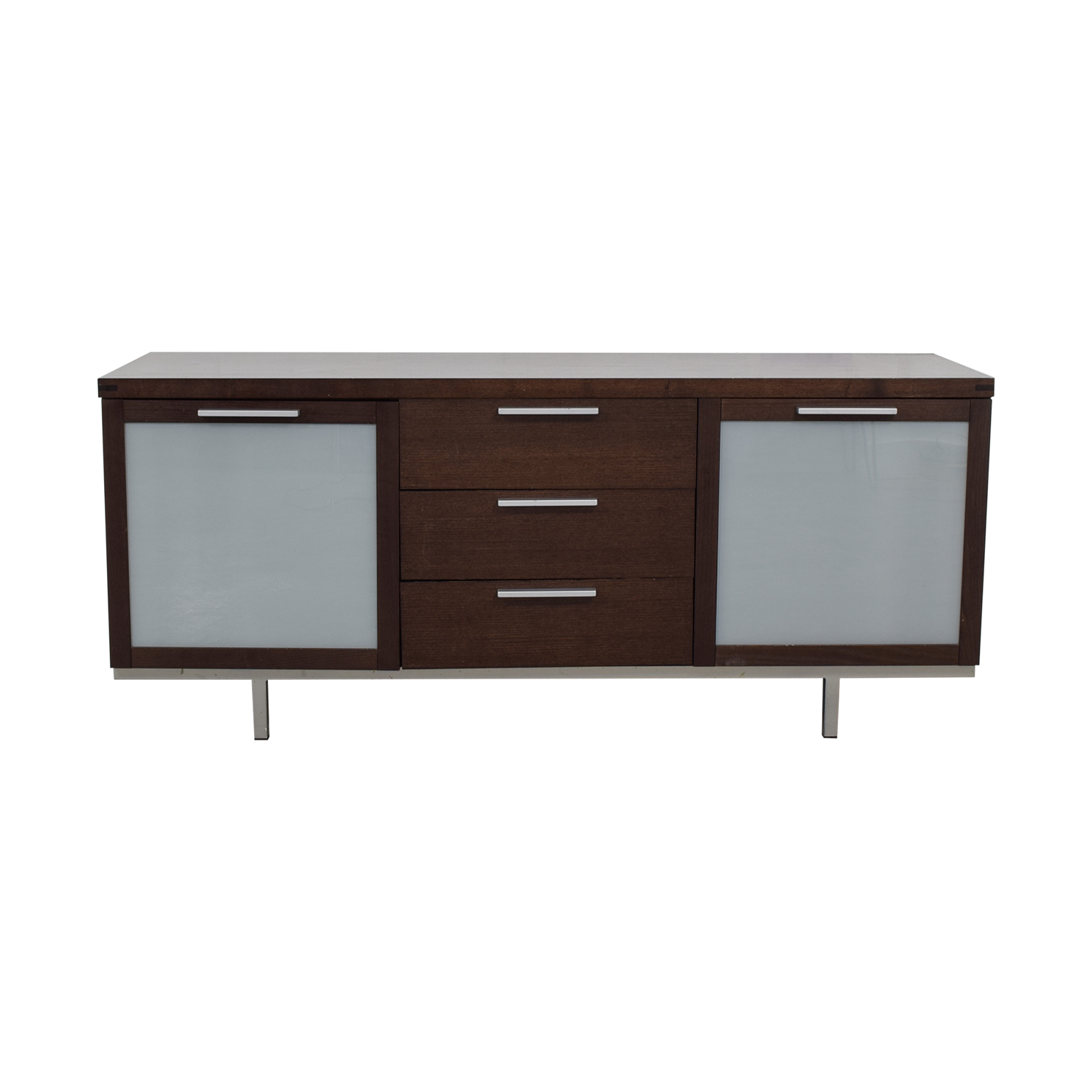 Calligaris Calligaris Wood and Glass Buffet nj