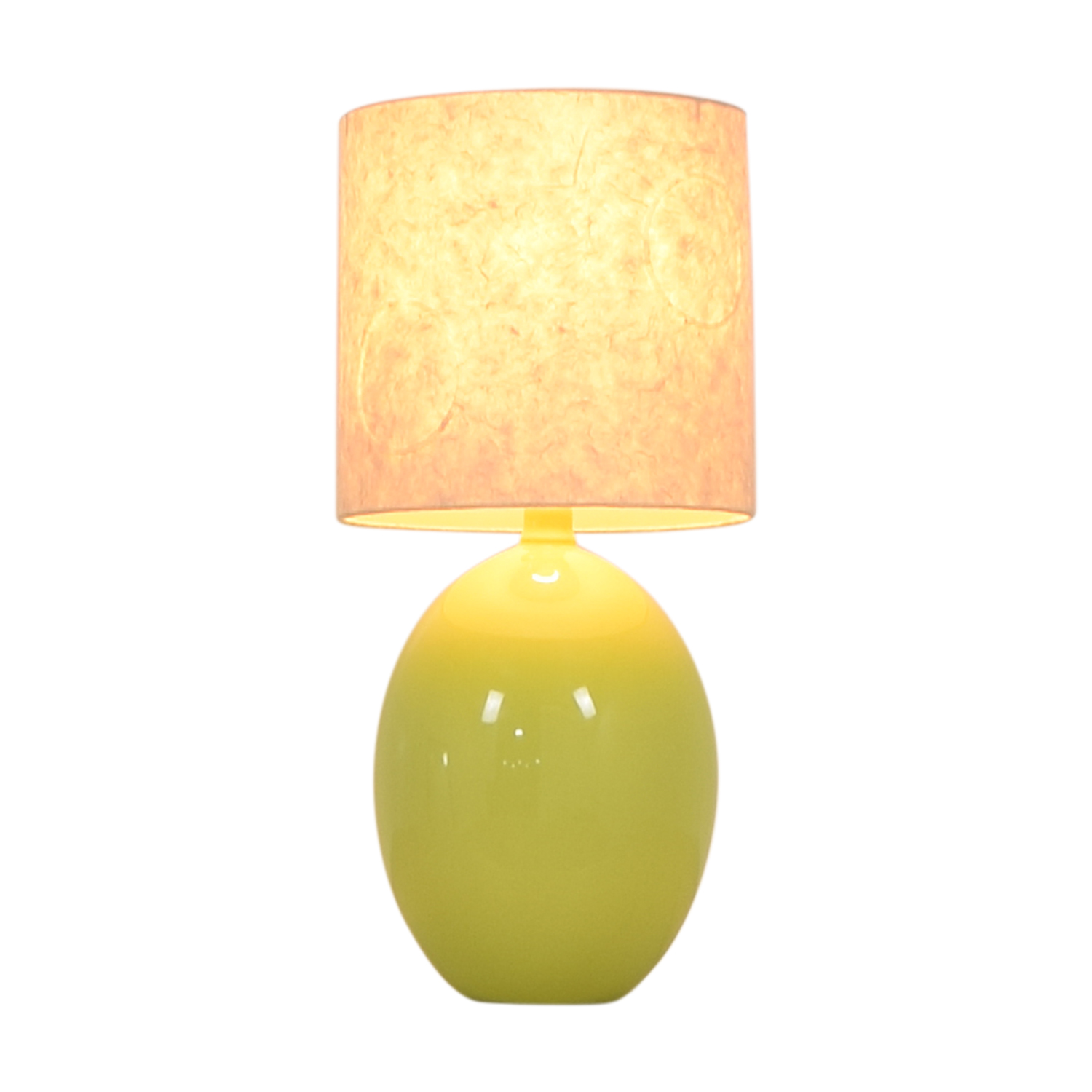CB2 CB2 Green Table Lamp used