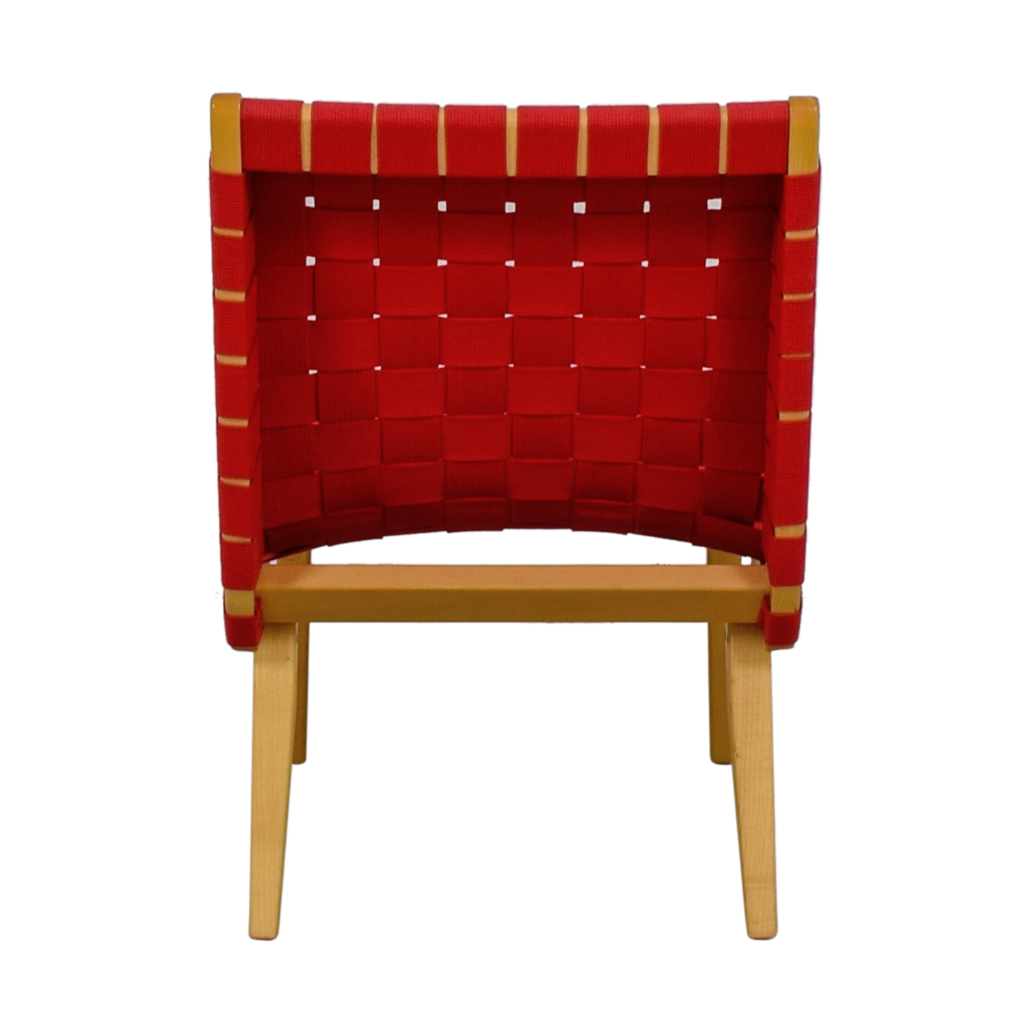 Knoll Knoll Risom Red Lounge Chair coupon
