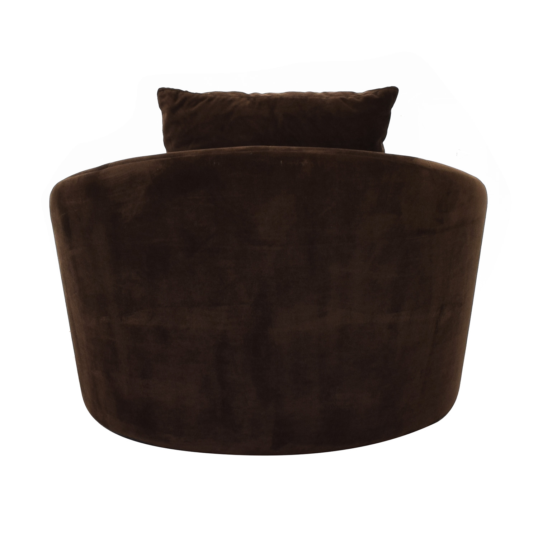 Raymour & Flanigan Raymour & Flanigan Swivel Chair discount