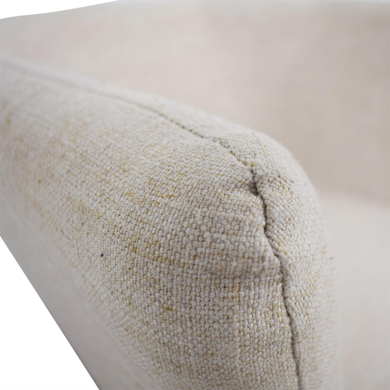 shop CB2 CB2 Ivory Swivel Chair online