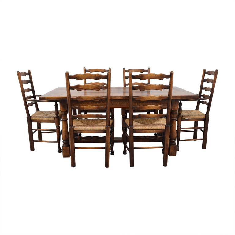 Fauld Fauld Refectory Wood Dining Set coupon