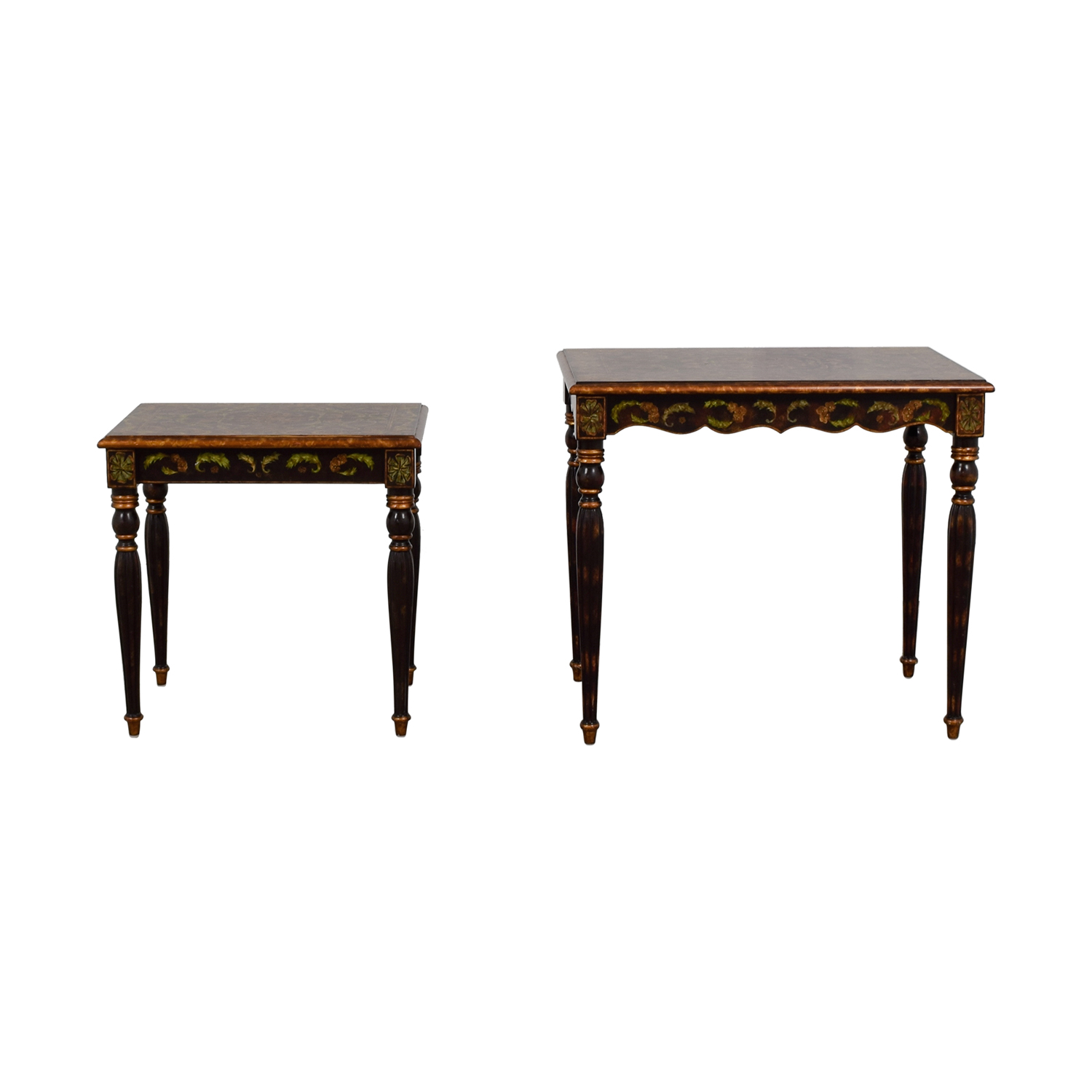 Sarried Sarried Handpainted Wood Nesting Tables Sofas