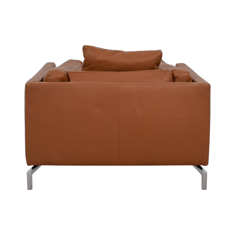 Design Within Reach Cognac Leather Como Armchair Design Within Reach