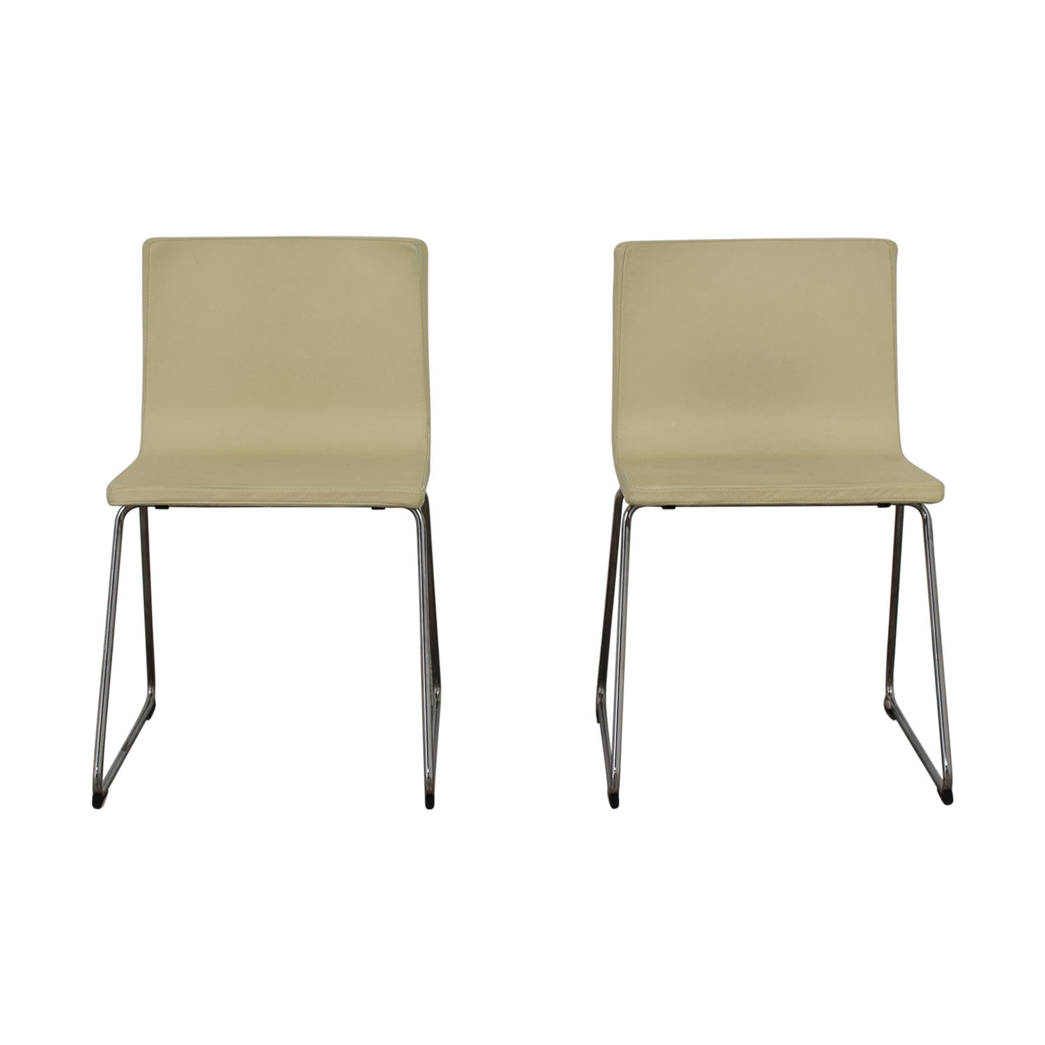IKEA IKEA Bernhard Leather Dining Chairs Chairs ...