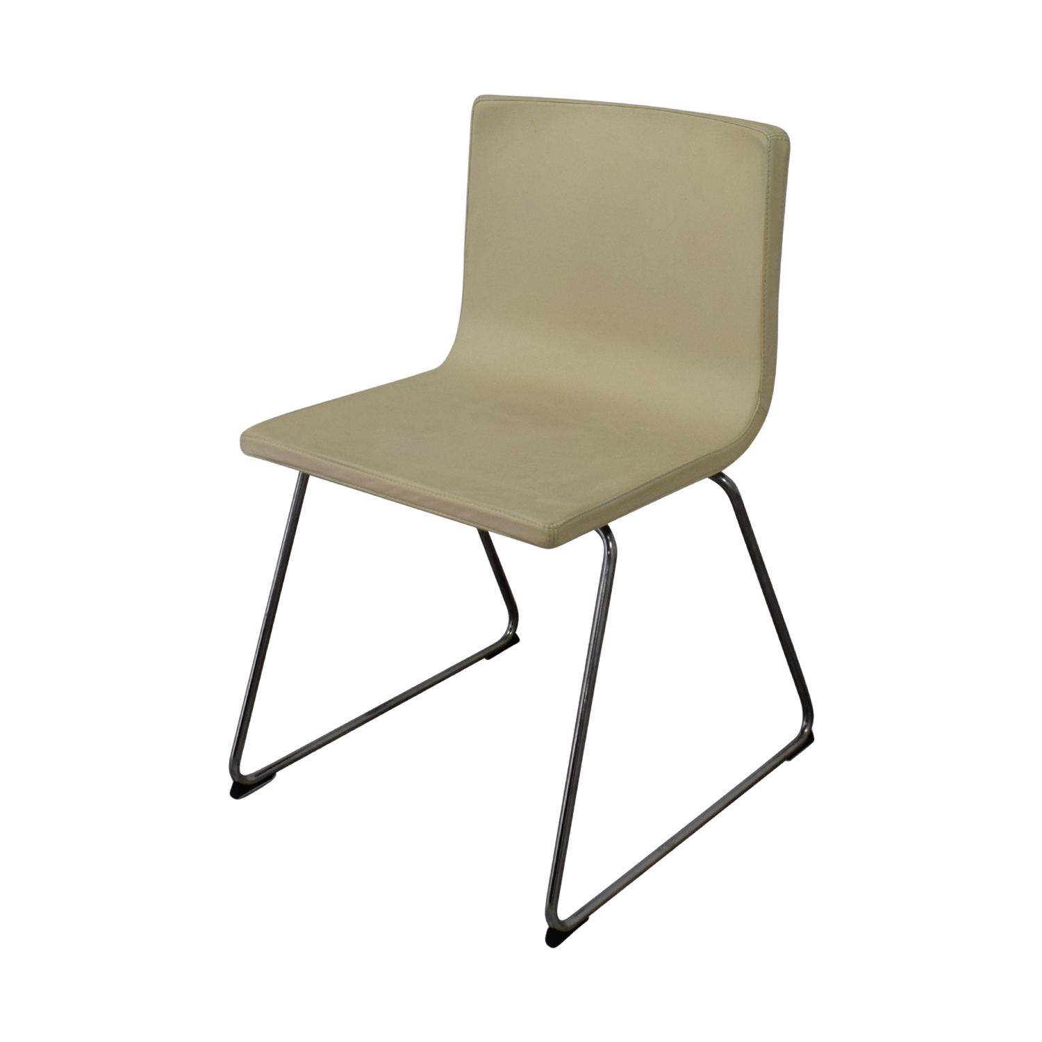 84 Off Ikea Ikea Bernhard Leather Dining Chairs Chairs