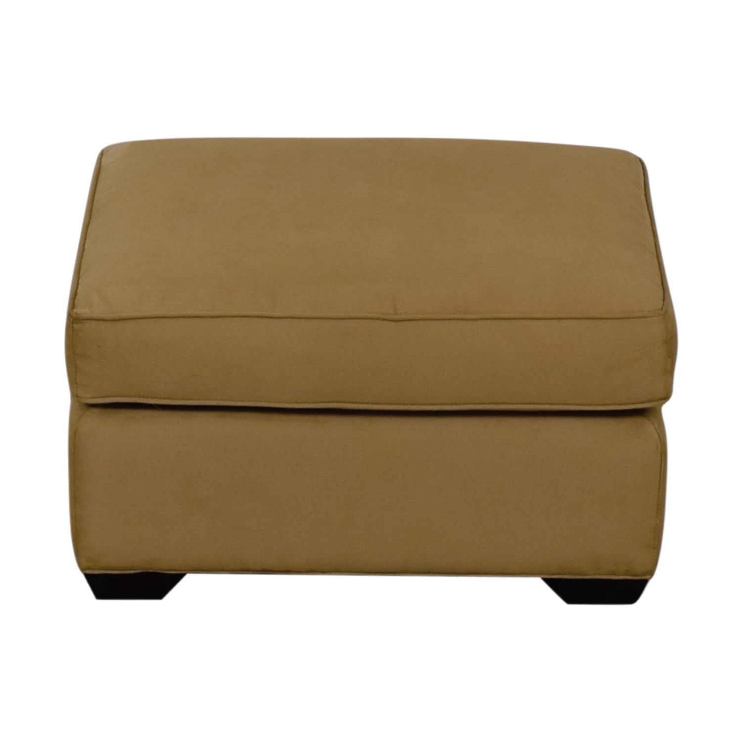 buy Crate & Barrel Crate & Barrel Davis Beige Ottoman online