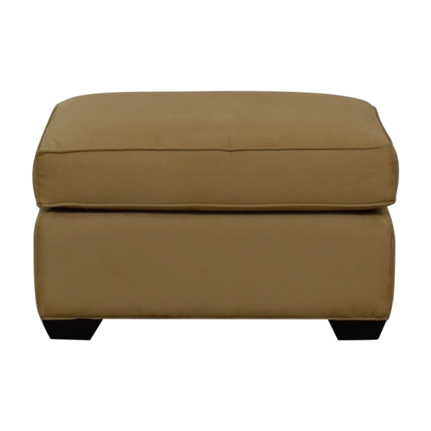 buy Crate & Barrel Davis Beige Ottoman Crate & Barrel Ottomans