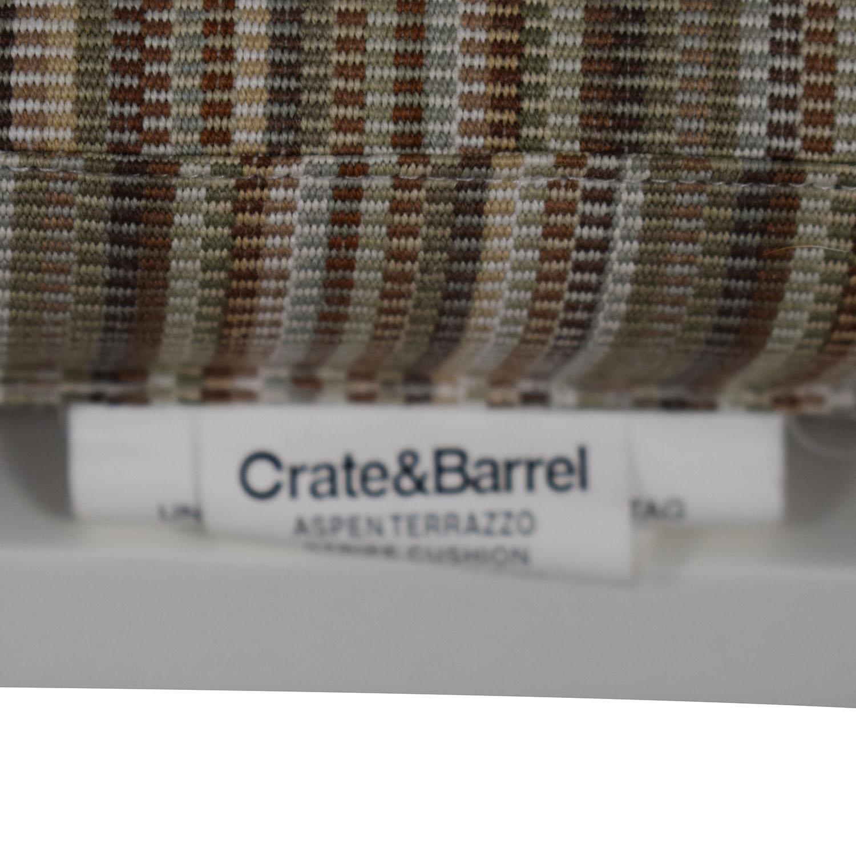 Crate & Barrel Aspen White Bar Stools sale