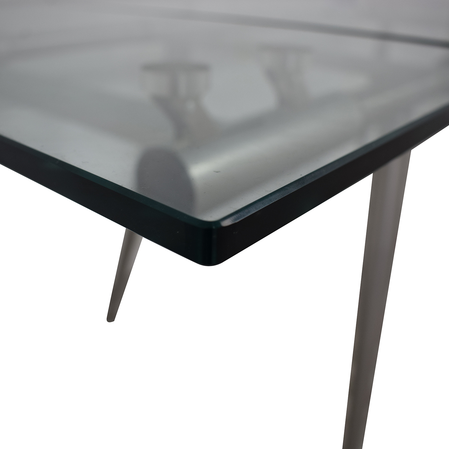 89 Off Calligaris Calligaris Modern Glass Extendable Dining Table Tables