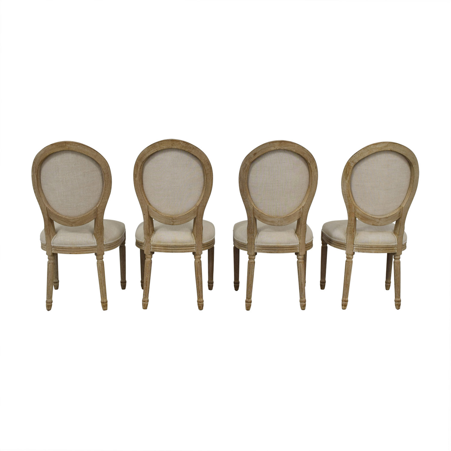 75 Off Restoration Hardware Restoration Hardware Vintage French Round Dining Chairs Chairs