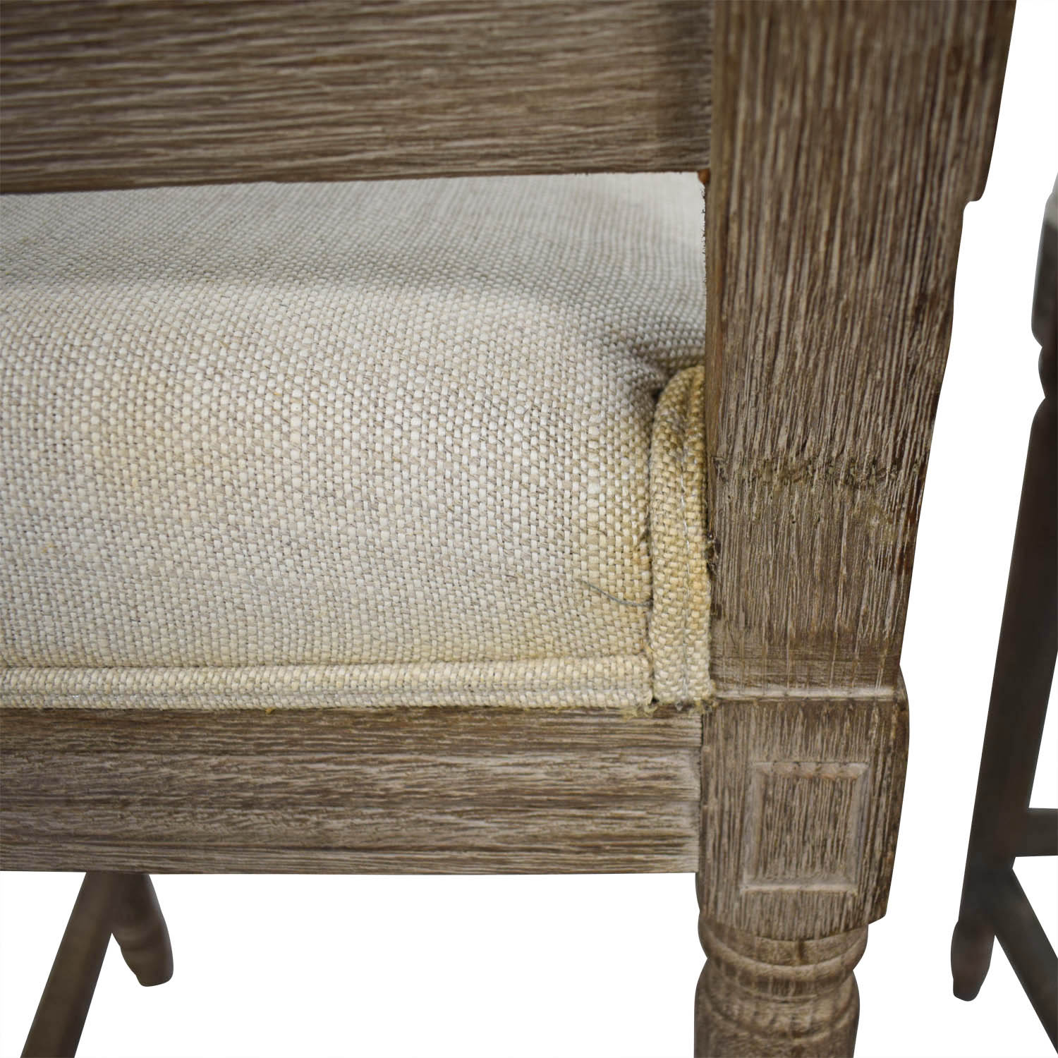Restoration Hardware Restoration Hardware Vintage French Square Counter Stools for sale