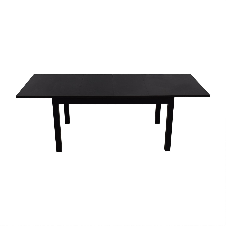 90 Off Ikea Bjursta Extendable Table Tables