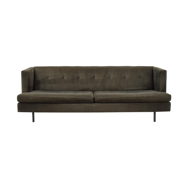 CB2 CB2 Avec Grey Sofa dimensions