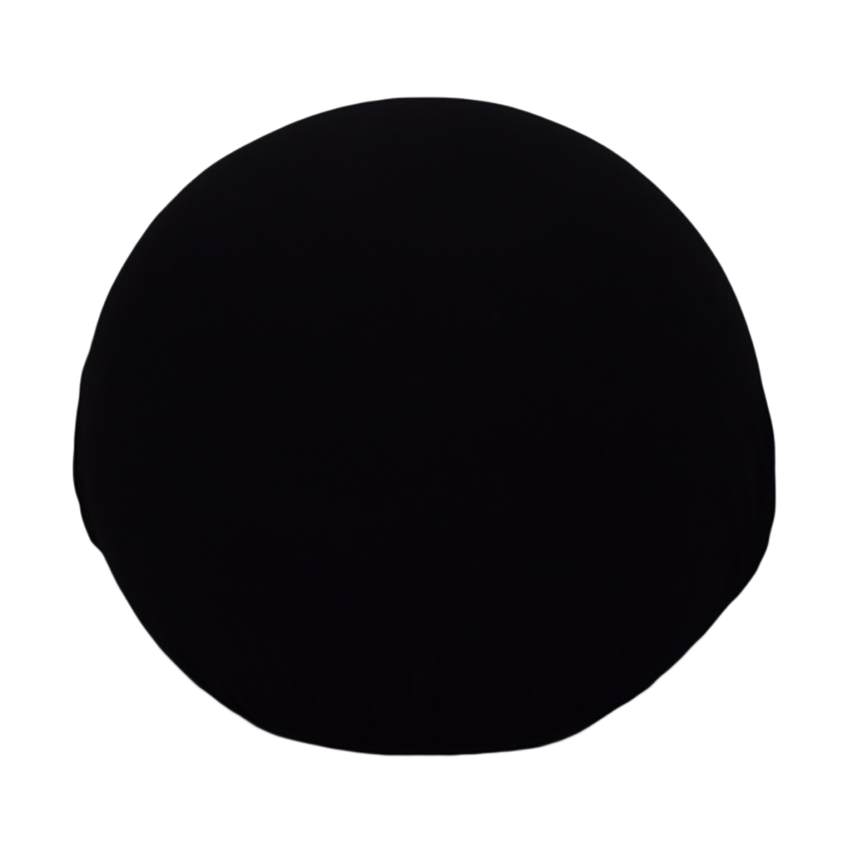 Baleri Italia Baleri Italia Tatino Black Pouf dimensions