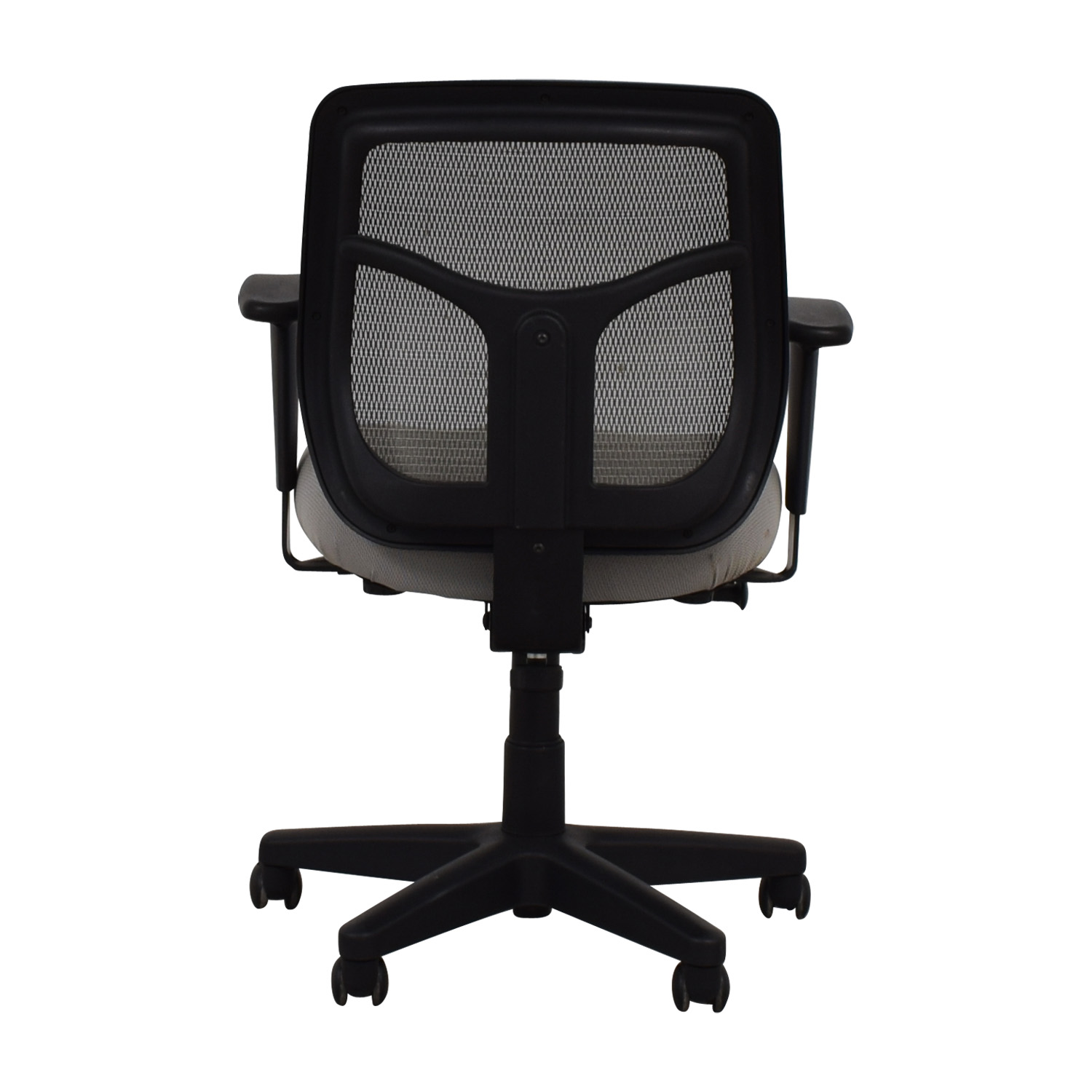 Grey and Black Computer Chair on Casters price