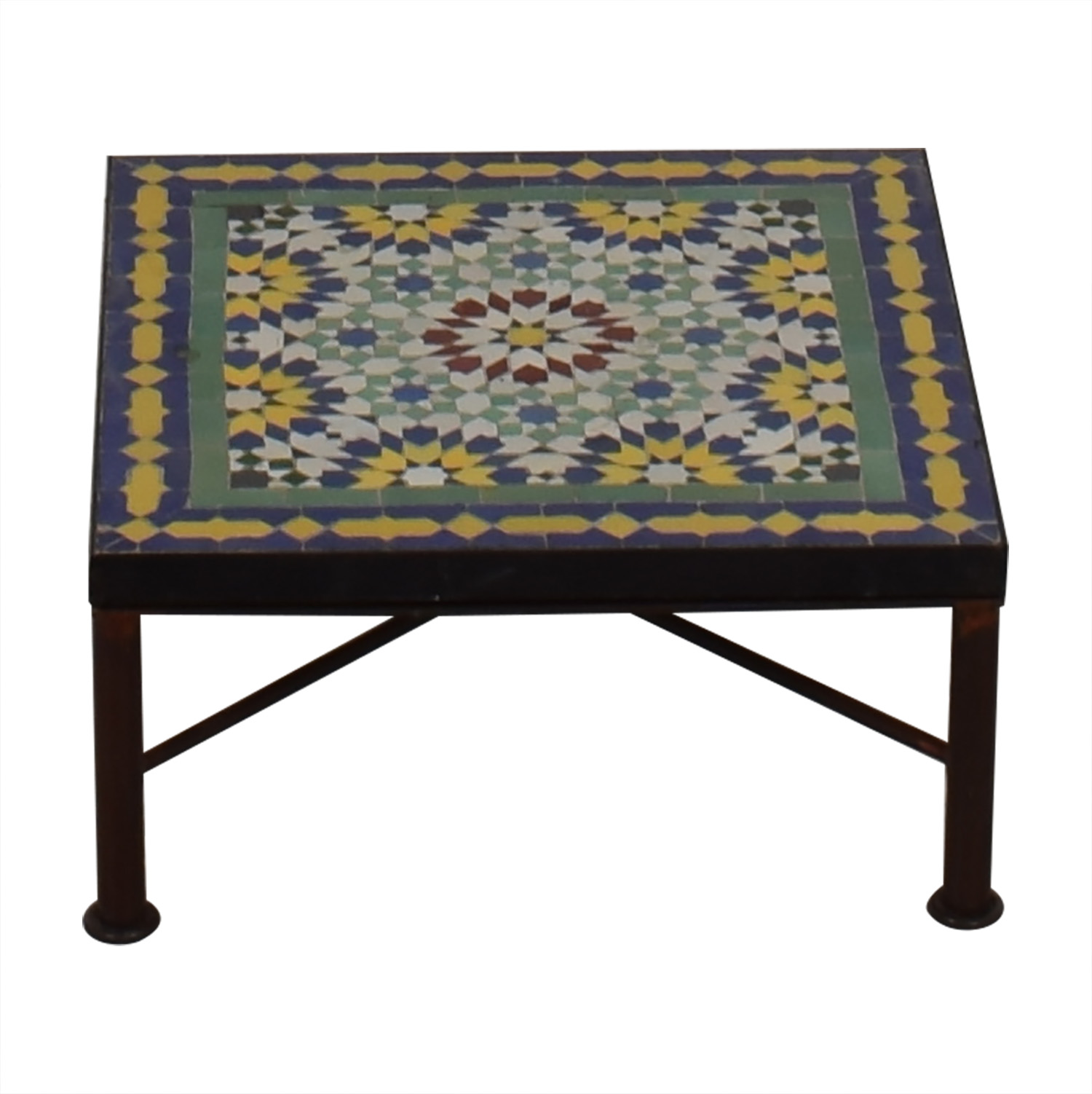 Moroccan Style Tile Coffee Table