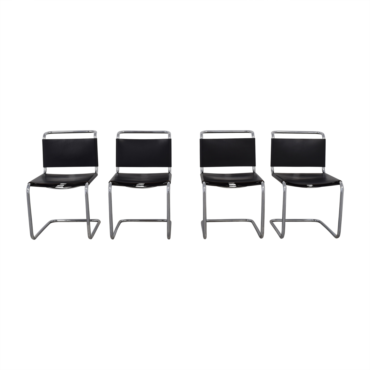 Knoll Spoleto Black Chairs / Chairs