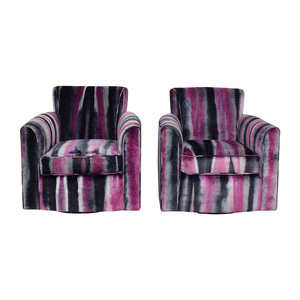 buy Furniture Masters Furniture Masters Purple Club Chairs online